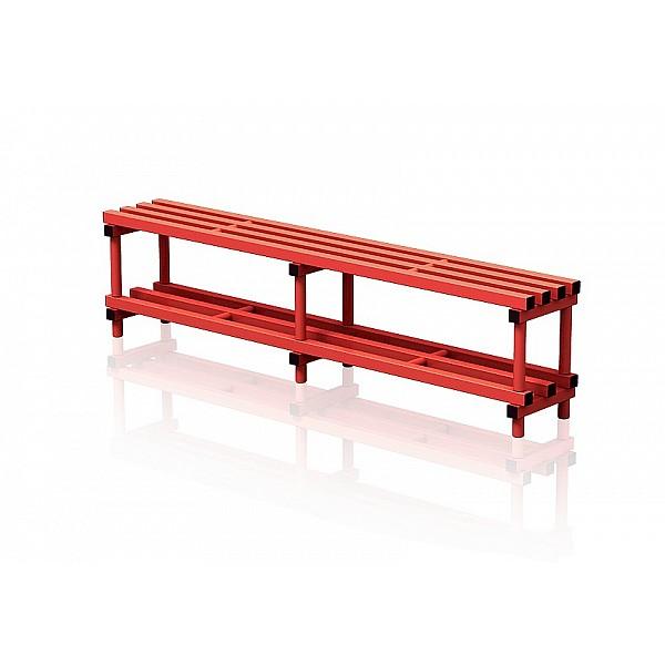 Kunststoffwagen mit Deckel 104x69x84 cm, rot : Artikel-Nr.19079035